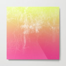Flaming Forest Metal Print