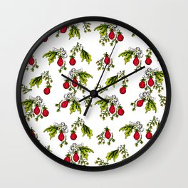 Tomato - Lilla täppan Wall Clock