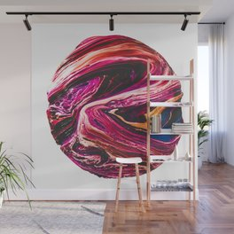 Abstract Planet v3 Wall Mural