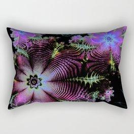 Frilly Flowers 3 Rectangular Pillow