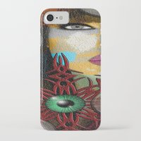 trippy iPhone & iPod Cases featuring Trippy by Müge Başak