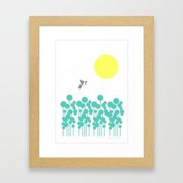 Morning Meadow  Framed Art Print