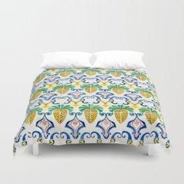 Pineapple Tiles Duvet Cover