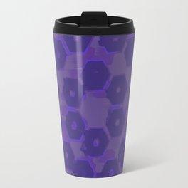 Ultraviolet Faded Petals Travel Mug