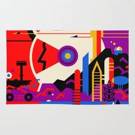 Vintage poster - Mars Rug