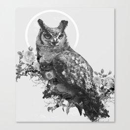 Moon Vertigo Canvas Print