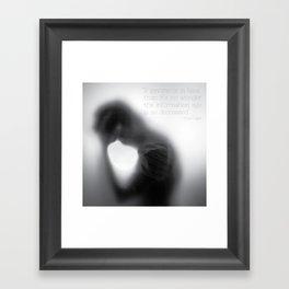 If ignorance is bliss... Framed Art Print