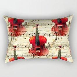 Violin Concerto Rectangular Pillow