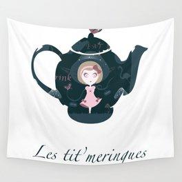 Alice's tea Wall Tapestry