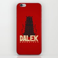 dalek iPhone & iPod Skins featuring Dalek Unchained by Moysche Designs