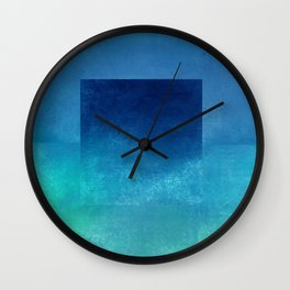 Square Composition IV Wall Clock
