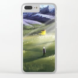 The Good Green Country Clear iPhone Case