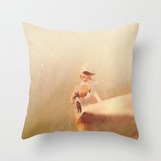 Save the cat! Throw Pillow
