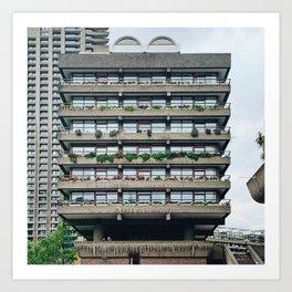 Barbican Estate Art Print