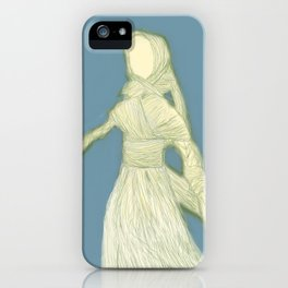 Corn Husk Doll iPhone Case