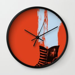 the boot goes on Wall Clock