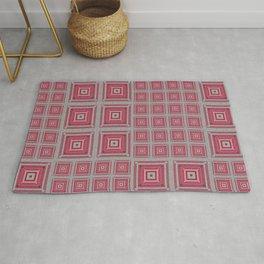 """""""Grandma's pink blanket"""" Rug"""