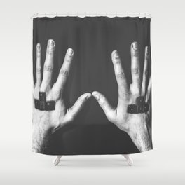 For Gamers Shower Curtain
