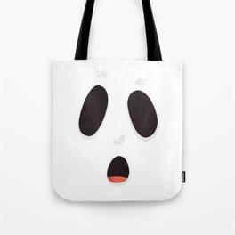 Sheet Face Tote Bag
