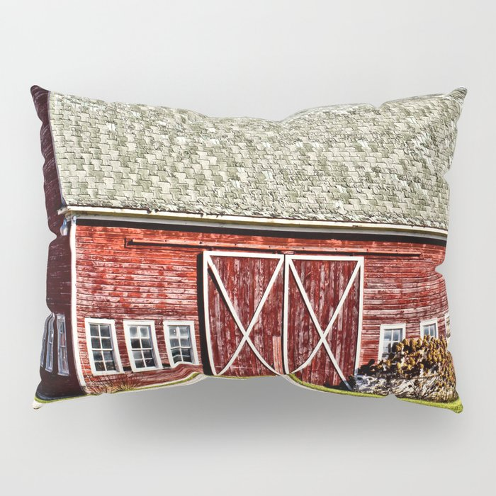 Wisconsin Old Barn 4 Pillow Sham