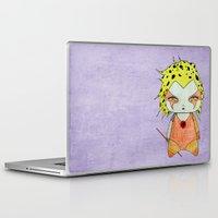 thundercats Laptop & iPad Skins featuring A Girl - Cheetara (Thundercats) by Christophe Chiozzi