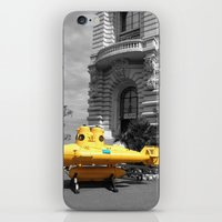 yellow submarine iPhone & iPod Skins featuring yellow submarine  by 33bc