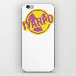 IYARFO Magenta iPhone Skin