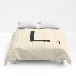 Scrabble L Comforters