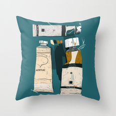 The Painter's House Throw Pillow