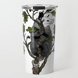 Oak Opossum by Boo Hag Travel Mug