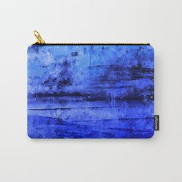 psychedelic sky clouds pattern wsdbi Carry-All Pouch