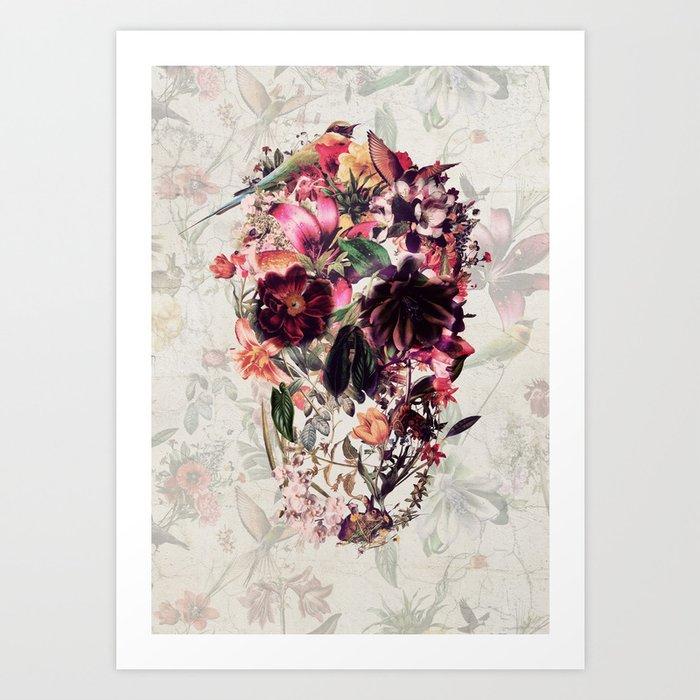 New Skull 2 Kunstdrucke