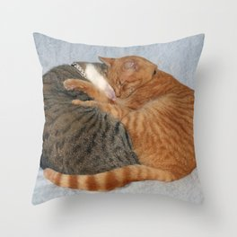 Ball of Cuteness Throw Pillow