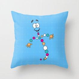 Mr. DNA 2 Throw Pillow