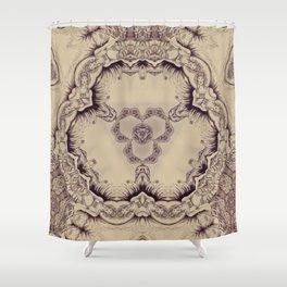 Elegant etnic chineese arabic exotic soft Shower Curtain