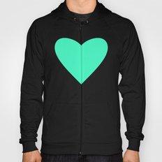Mint Heart Hoody