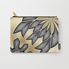 Pointillism Tribal fusion Carry-All Pouch