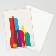 Shapes of Chicago. Accurate to scale Stationery Cards