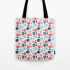 School Of Fish Tote Bag
