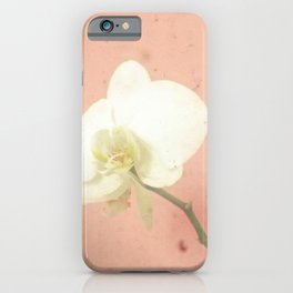 Pale Orchid iPhone Case