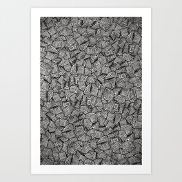Chaos!! Art Print
