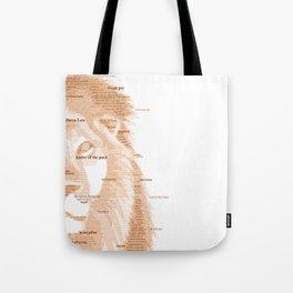 The Regal Type Tote Bag