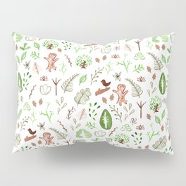 Nature Pattern Pillow Sham