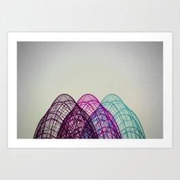Industrial Overlay Art Print