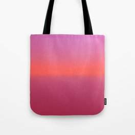 Pink TwoTone Tote Bag