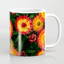 Plant Patterns - Flowery Fireworks Coffee Mug
