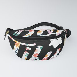 Halloween Ghost Boo Tiful Fanny Pack