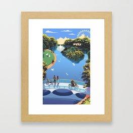St James Park Framed Art Print