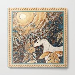 """Unicorn Love"" Metal Print"