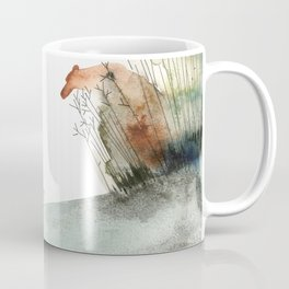 Meeting the Bear of the forest Coffee Mug